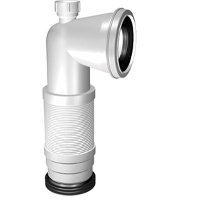 Picture of BENT FLEXIBLE PAN CONNECTOR WITH SPIGOT