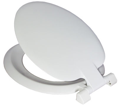 Picture of CELMAC SONATA TOILET SEAT WHITE 2.7kg