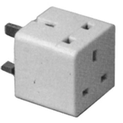 Picture of 2 WAY UNFUSED 13amp ADAPTOR