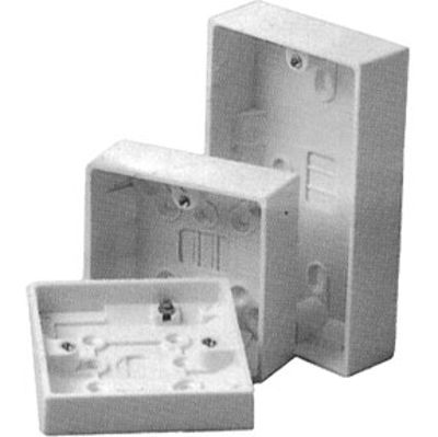 Picture of 2 GANG 25mm DEEP PATTRESS BOX