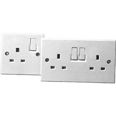 Picture of 2 GANG SWITCHED SOCKET OUTLET