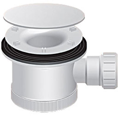 Picture of SHOWER TRAP 120MM CHROME DOME