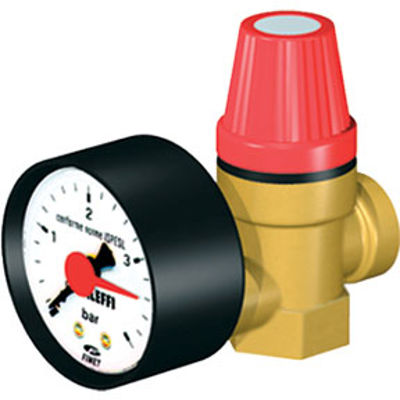 Picture of SAFETY RELIEF VALVE 1/2in BSP M/F 3 Bar
