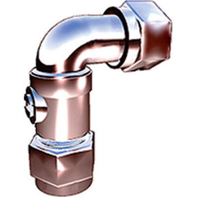 Picture of 15mm C.P. SERVICE VALVE ANGLED