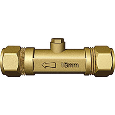 Picture of 15mm Brass Double Check Valve