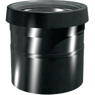 Picture of 110mm RING SEAL SOIL S/S COUPLER SOIL/PUSHFIT BLACK