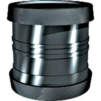 Picture of 110mm RING SEAL SOIL D/S SLIP COUPLER BLACK