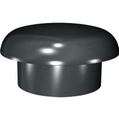 Picture of 110mm RING SEAL SOIL MUSHROOM COWL BLACK