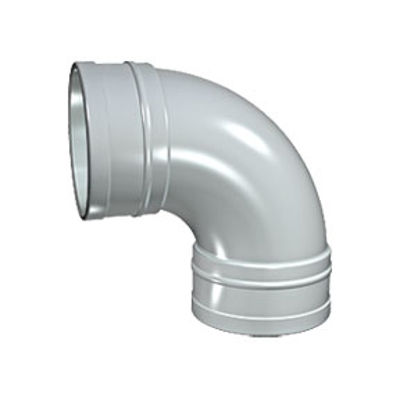 Picture of 110mm SOLVENT SOIL 92 D/S BEND BLACK