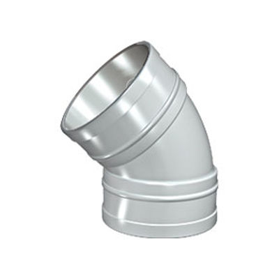 Picture of 110mm SOLVENT SOIL 135 D/S BEND BLACK