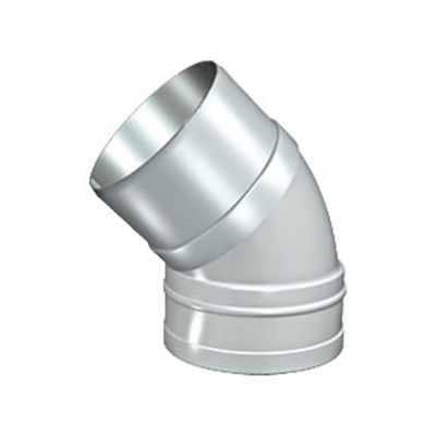 Picture of 110mm SOLVENT SOIL 135 S/S BEND BLACK