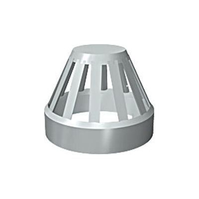 Picture of 110mm SOLVENT SOIL VENT TERMINAL BLACK