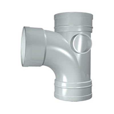 Picture of 110mm SOLVENT SOIL 92 T/S BRANCH OLIVE GREY