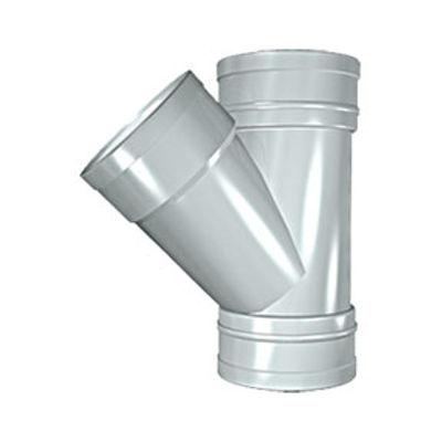 Picture of 110mm SOLVENT SOIL 135 T/S BRANCH OLIVE GREY