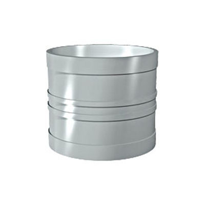 Picture of 110mm SOLVENT SOIL D/S COUPLING OLIVE GREY