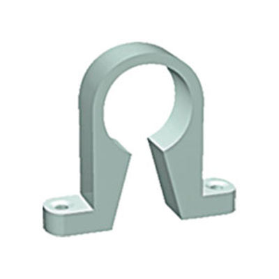 Picture of UPVC SOLVWELD PIPE CLIP  40MM GREY