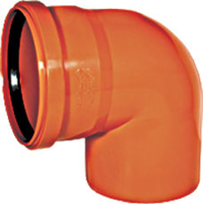 Picture of ***USE UG38 *** UNAVAILABLE 110mm UNDERGROUND SINGLE SOCKET 90  BEND