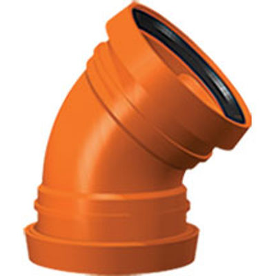 Picture of 110mm UNDERGROUND DOUBLE SOCKET 45 BEND