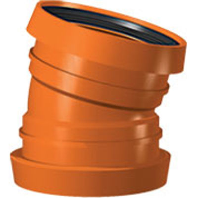 Picture of 110mm UNDERGROUND DOUBLE SOCKET 15 BEND
