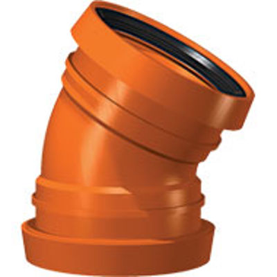 Picture of 110mm UNDERGROUND DOUBLE SOCKET 30 BEND