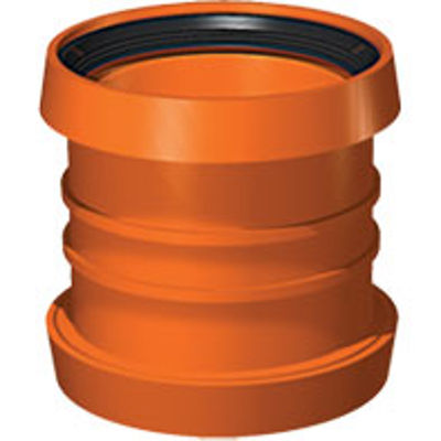 Picture of 110mm UNDERGROUND DOUBLE SOCKET COUPLER