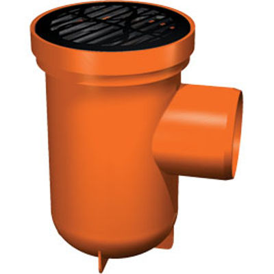 Picture of 110mm UNDERGROUND BOTTLE TRAP WITH REAR INLET