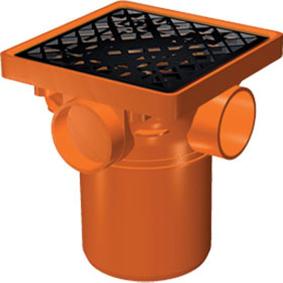 Picture of 110mm UNDERGROUND SQUARE HOPPER