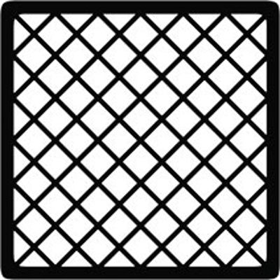 Picture of SPARE SQUARE CHAMBER GRID 150mm X 150mm