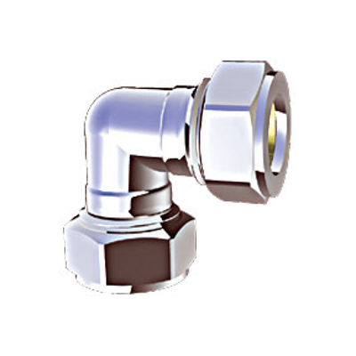 Picture of 22mm CHROME COMPRESSION ELBOW - DO NOT REORDER