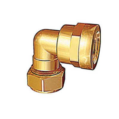 """Picture of 22mm x 3/4"""" FEMALE ELBOW COMPR"""