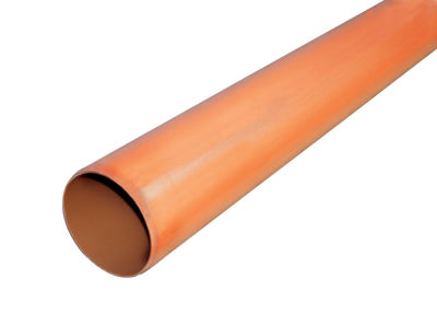 Picture of 110mm U/G DRAIN PIPE 3M -PLAIN ENDED