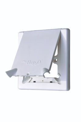 Picture of HEP2O RADIATOR OUTLET COVER WITH FLAP HX113 WH