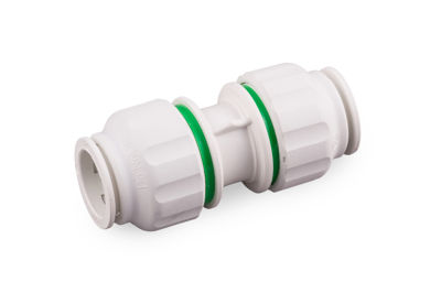 Picture of 15mm TWISTLOC STRAIGHT CONNECTOR (WHITE)