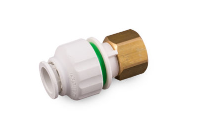 """Picture of 15mm x 1/2"""" TWISTLOC STRAIGHT TAP CONNECTOR"""