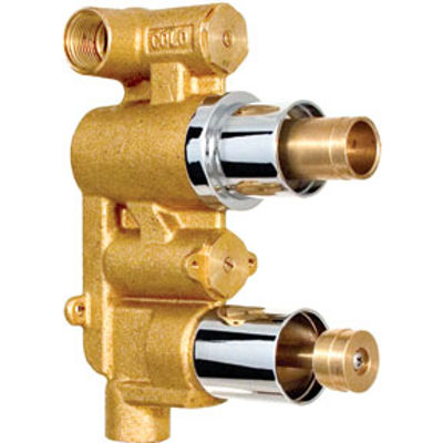 Picture of CONCEALED DUAL THERMOSTATIC SHOWER MIXER VALVE BODY ONLY