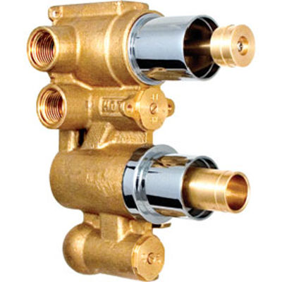 Picture of CONCEALED DUAL THERMOSTATIC SHOWER MIXER VALVE + DIVERTER BODY ONLY