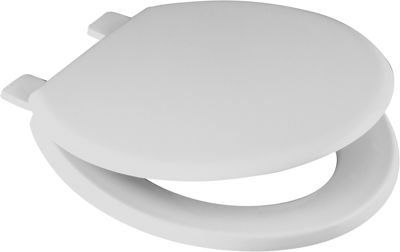 Picture of CELMAC EMERALD TOILET SEAT WHITE 1.8kg