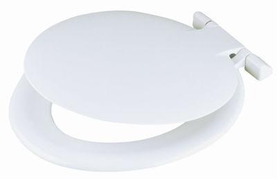 Picture of CELMAC SAXON TOILET SEAT WHITE 1.6kg