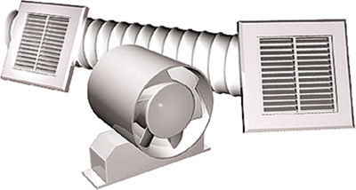 Picture of SHOWER FAN KIT WITH TIMER