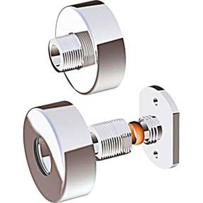 Picture of BAR SHOWER WALL BRACKETS CHROME