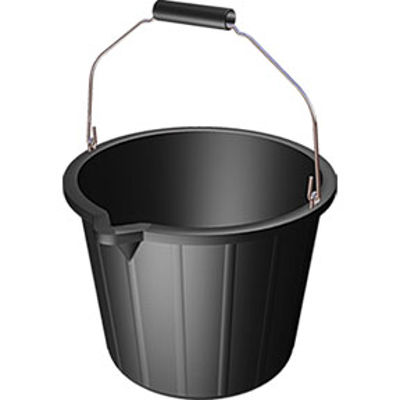 Picture of 3 GAL BLACK BUCKET