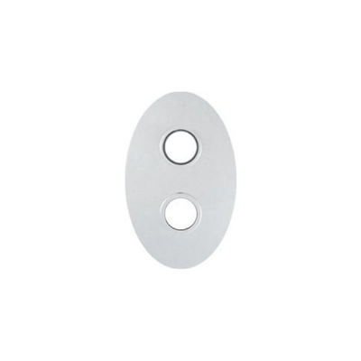 Picture of OVAL CHROME COVER PLATE FOR TOR2D TWO HOLE