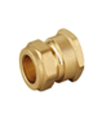 """Picture of 22mm x 1"""" FEMALE ADAPT COMPRS"""