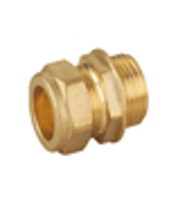 """Picture of 15mm x 3/8"""" MALE ADAPT COMPRES"""