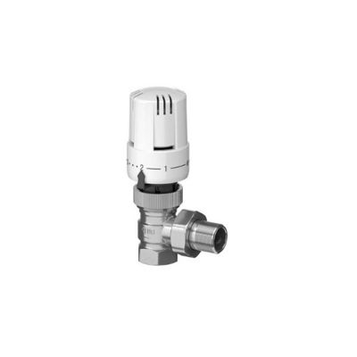 Picture of TRV valve body & thermostatic head