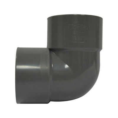 Picture of UPVC SOLV WELD 90 BEND X 32MM GREY