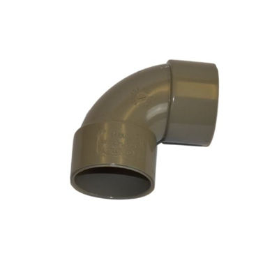 Picture of UPVC SOLV WELD 92.5 BEND 32MM GREY