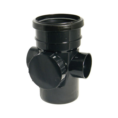 Picture of 110mm BLACK ACCESSPIPE-S&S