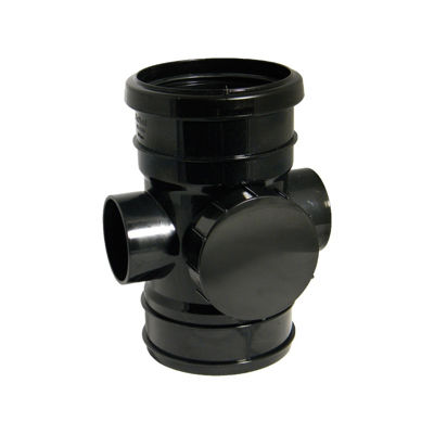 Picture of 110mm BLACK ACCESSPIPE-S/SW