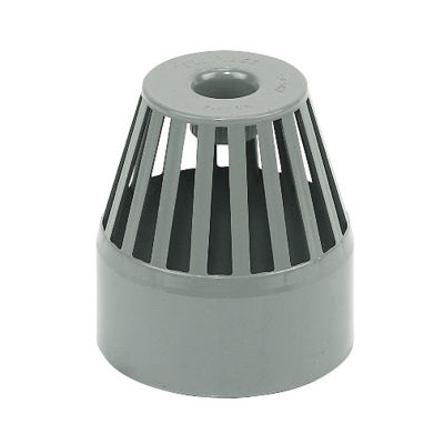 Picture of 110mm GREY VENT TERMINAL
